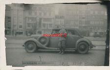 Foto, Wehrmacht, Soldat in Brüssel am 13.09.1940, Pkw, (Q) 426