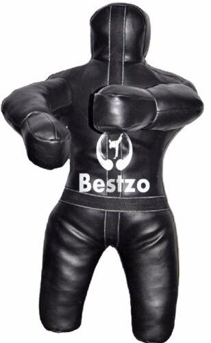 Bestzo MMA Jiu Jitsu Judo Throwing and Grappling  Dummy Black  70in 6 ft