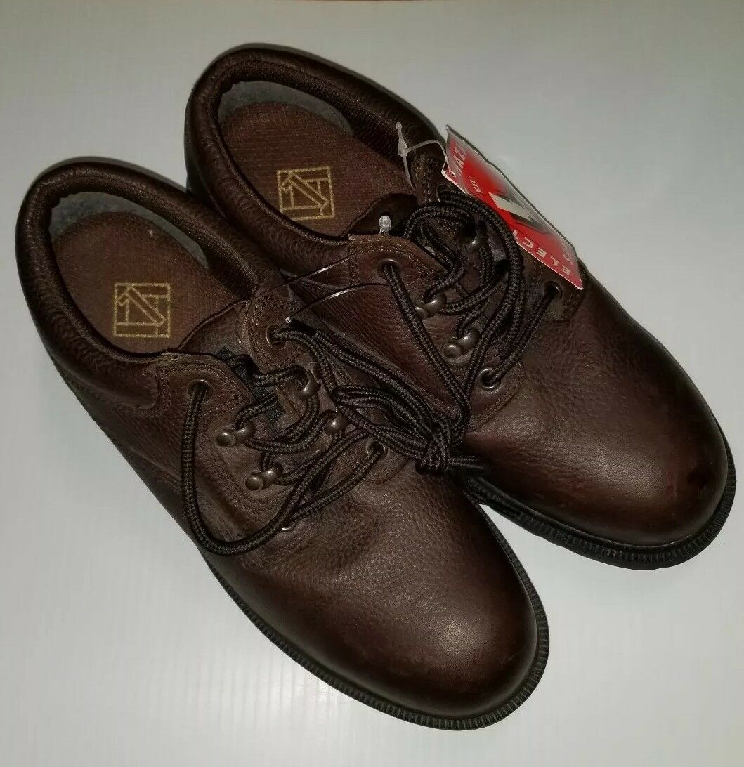 Lehigh Electrical Hazard Safety  Footwear Marronee Leather Oxfords scarpe Mens 8.5 W  Ultimo 2018