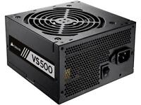 Corsair VS500 500W ATX12V / EPS12V 80 PLUS Certified Active PFC Power Supply