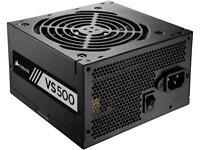 Corsair VS500 500W ATX12V / EPS12V 80 PLUS Certified Active PFC Power Supply