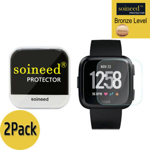 2-PACK-SOINEED-Tempered-Glass-Screen-Protector-Film-For-Fitbit-Versa-Watch