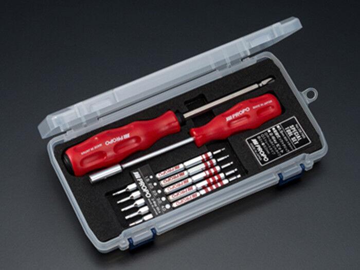 Mejor JR PROPO herramientas destornillador de cabeza hexagonal de 5.5 BITS de tornillo Reversible Para RC Modelo