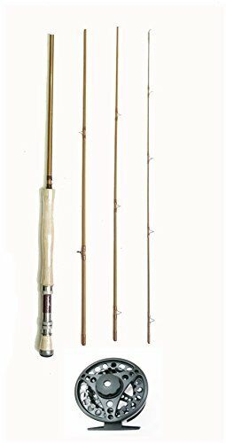 KUFA Sports 9ft Graphite Fly Fishing Rod 4Section, 78 & Fly ReelKFL9478FR78
