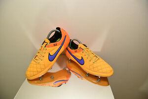 Détails sur Nike Tiempo Legend V SG Pro Chaussures De Football UK 8 Acc afficher le titre d'origine