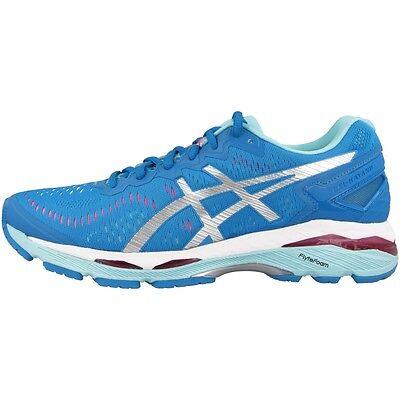 Asics Gel-kayano 23 Women Donna Scarpe Da Corsa Blue Silver Aqua T696n-4393 Running- Disabilità Strutturali