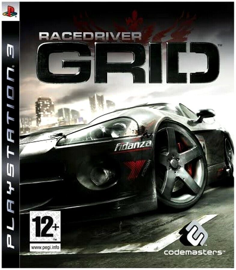 GRID Racing Game PS3 Fast Post Excellent Condition UK