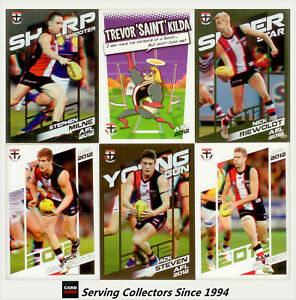 2012-Herald-Sun-AFL-Trading-Cards-Base-Card-Team-Set-St-Kilda-12
