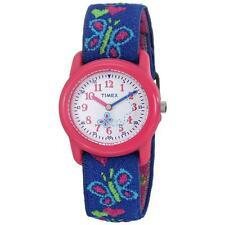 Timex T89001 Easy to Read Fun Rotating Dial Kidz Butterflies & Hearts Watch