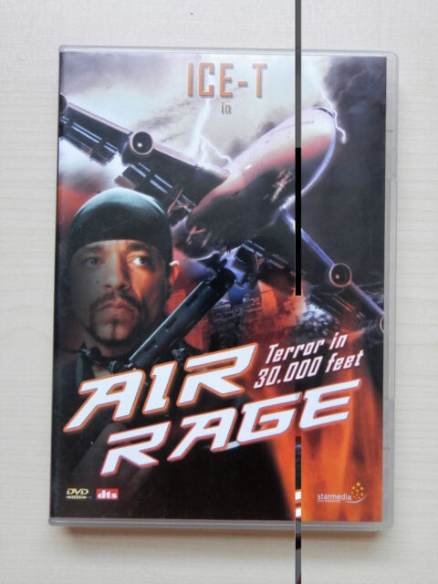 Air Rage - Terror in 30.000 Feet  - DVD - mit ICE-T