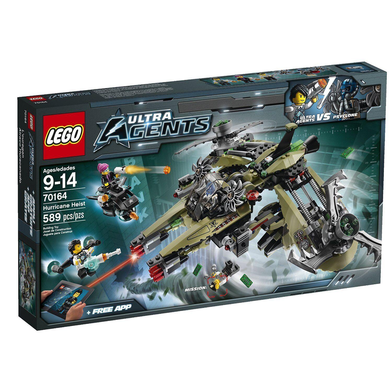 LEGO Ultra Agents 70164 uragano rapina Hurricane Robbery