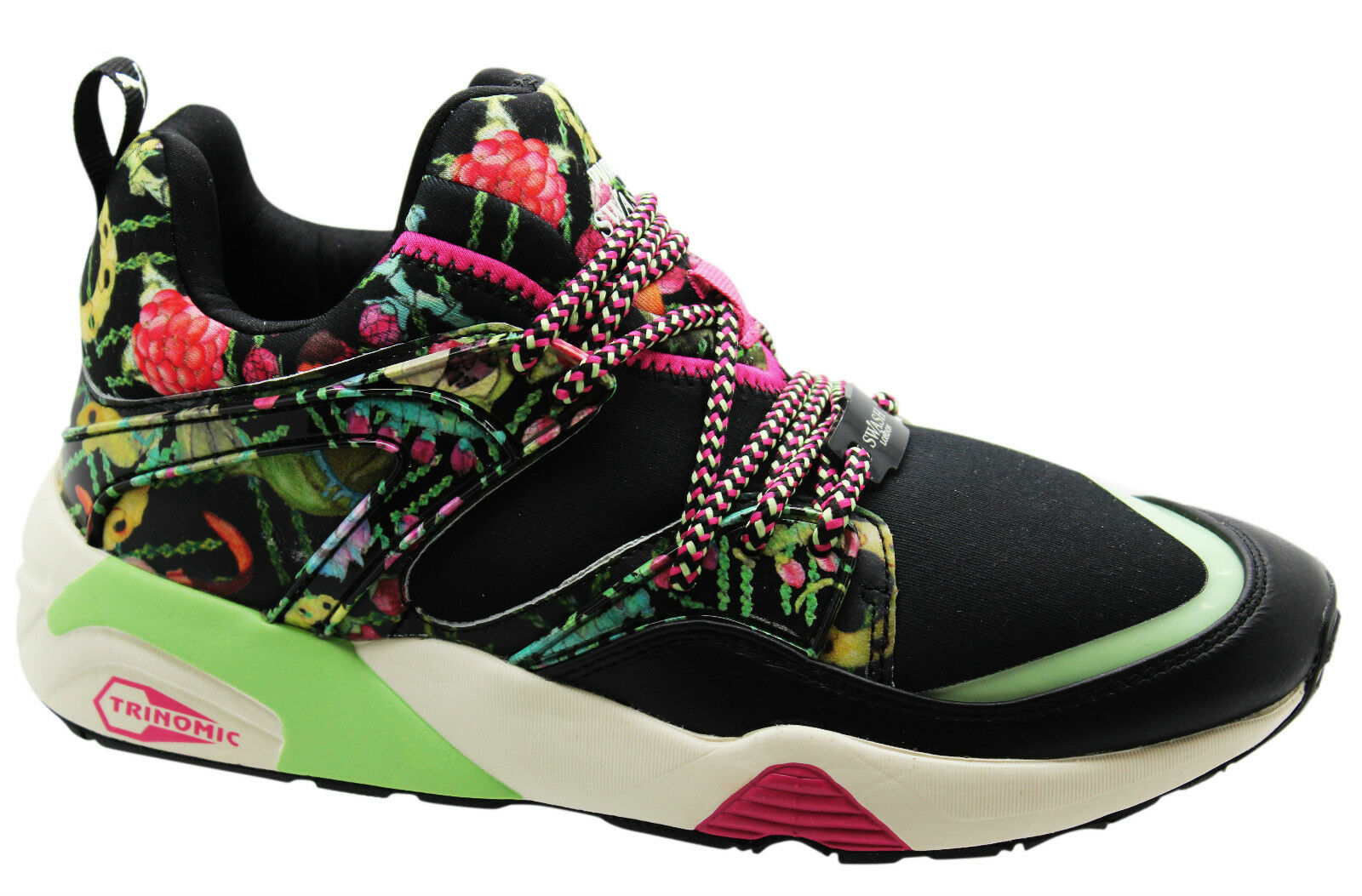 Puma Trinomic Blaze of Glory x Swash W London Womens Trainers 358862 01 U119