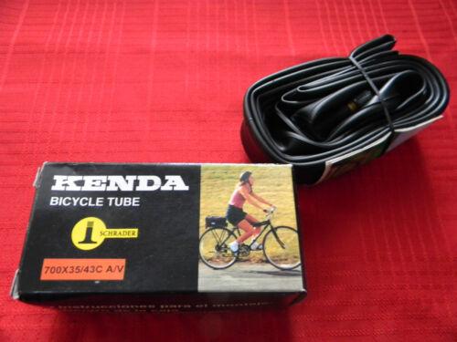 700 X 35//43C A//V Schrader Kenda Bicycle Tube