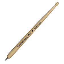 Revolutionary War Wooden Drumstick Ballpoint Pen New Blue Ink