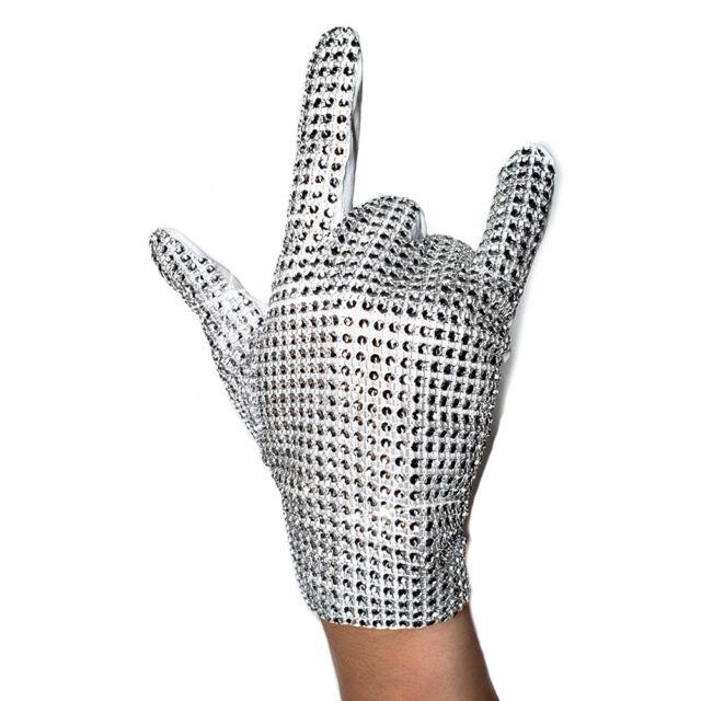 MJ Glove for Kids Billie Jean glove Single side Rhinestone Gloves