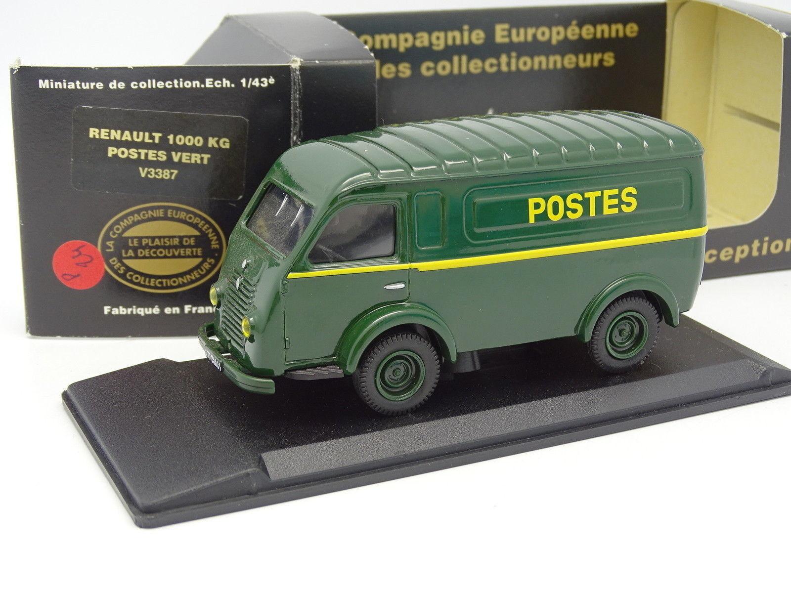 Eligor CEC 1 43 - Renault 1000 KG Posts