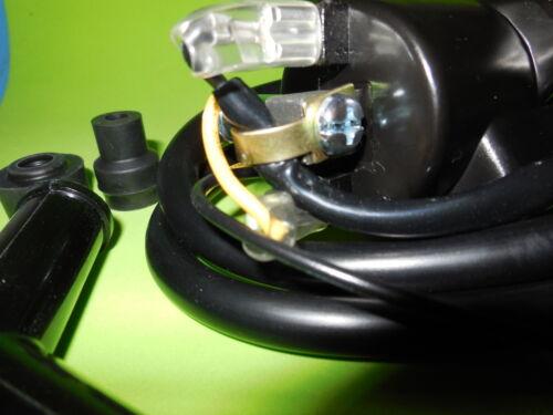 2x Kawasaki Z1 KZ650 KZ750 KZ900 KZ1000 4 Ohm Ignition coils w// NGK plug caps