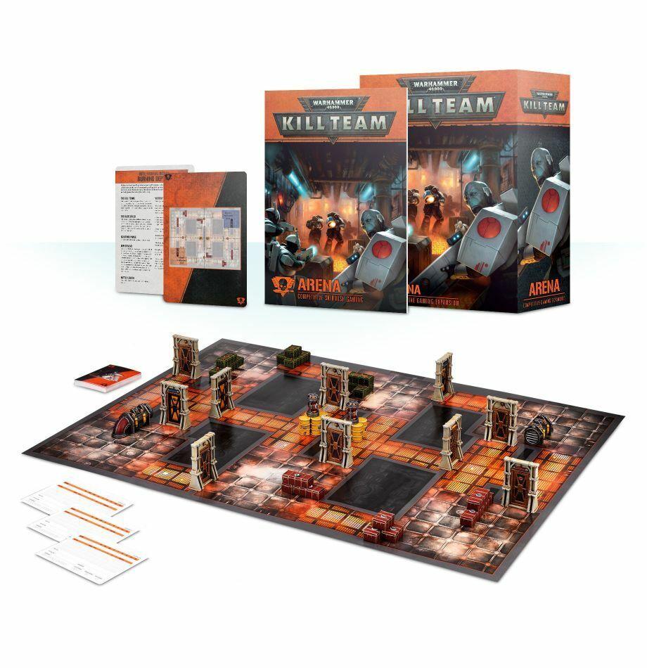 KILL TEAM ARENA EXPANSION 102 -48 -60 (Spel arbetarhop Warhammer 40K) NY