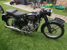 classic motocycle velocette mac 350cc 1955