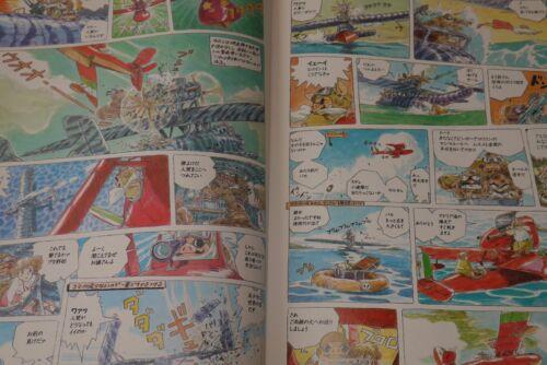JAPAN Hayao Miyazaki Porco Rosso Original Work Book Hikoutei Flying Boat Jidai