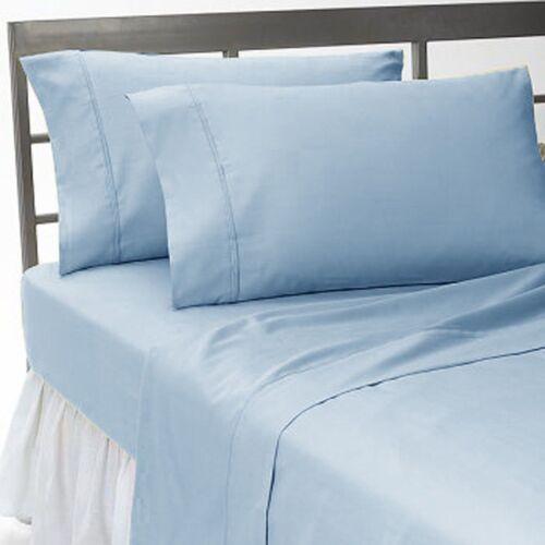1000TC Egyptian Cotton Deep Pocket 4PC Bed Sheet Set Twin-XXL Size