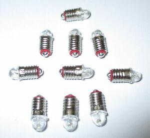LED-Ersatzlampen-Maerklin-600100-600200-E5-5-16-24V-10-Stueck-NEU