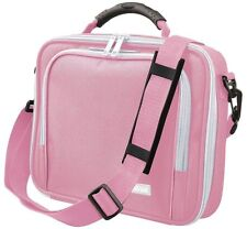 "TRUST 16834 PINK 10"" NETBOOK TABLET PADDED SHOULDER BAG CARRY CASE EXTRA POCKETS"