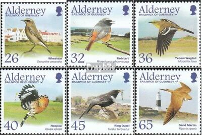 Discreet United Kingdom-alderney 236-241 complete.issue. Never Hinged Unmounted Mint