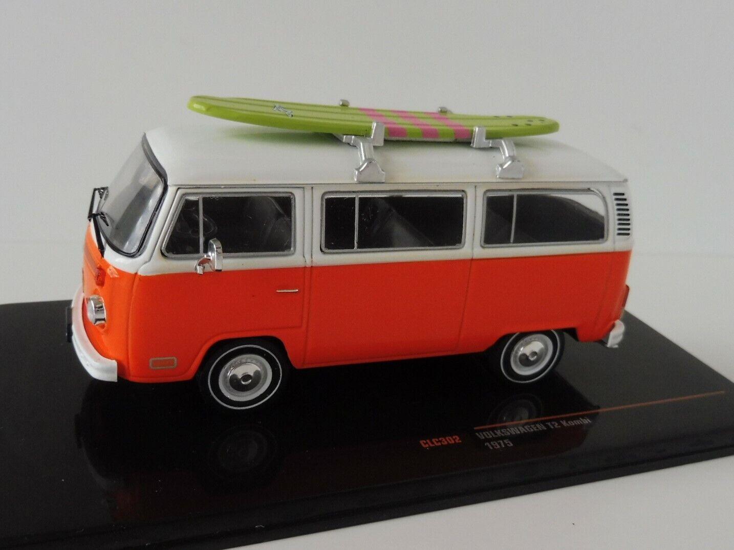 tienda de venta VW t2 coche familiar 1975 naranja surfboard 1 1 1 43 ixoclc 302 Type autobús volkswagen descubrimos Ixo  la calidad primero los consumidores primero