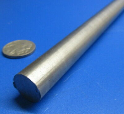 """-0.0005/"""" 2 Unit Hardened x 1 Foot Length 1//8/"""" Dia. 440C Stainless Steel Rod"""
