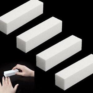 50-x-White-Nail-Art-Buffer-Buffing-Sanding-File-Block-For-Manicure-Pedicure-m-z