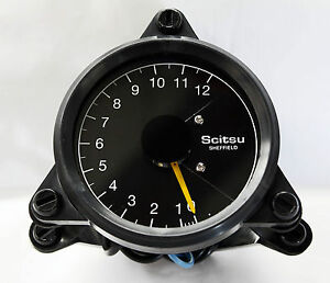 scitsu rev counter tachometer tacho multi power options. Black Bedroom Furniture Sets. Home Design Ideas