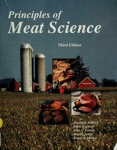 Principles of Meat Science by Hedrick, Harold B.-ExLibrary