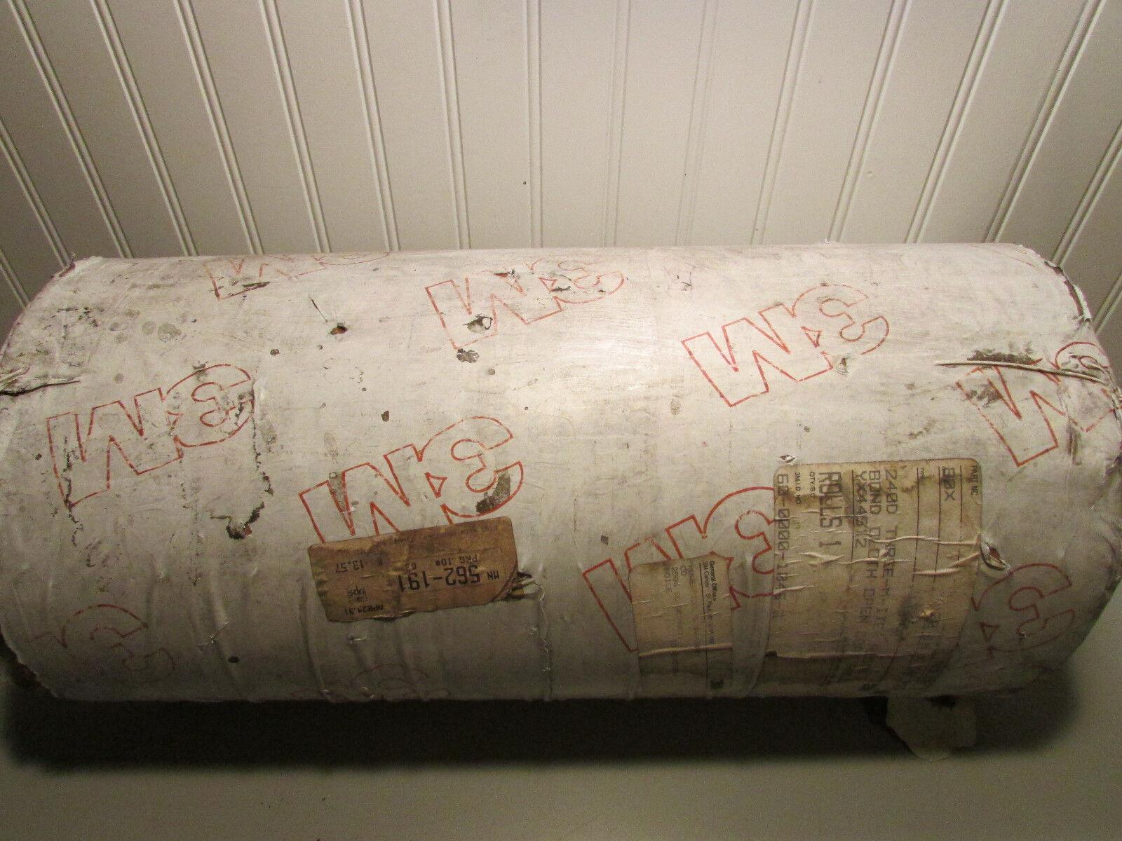 3M Sandpaper 24OD Three-M-ITE Resin Bond Cloth Open Coat Roll 20'' x 50 Yds 80X