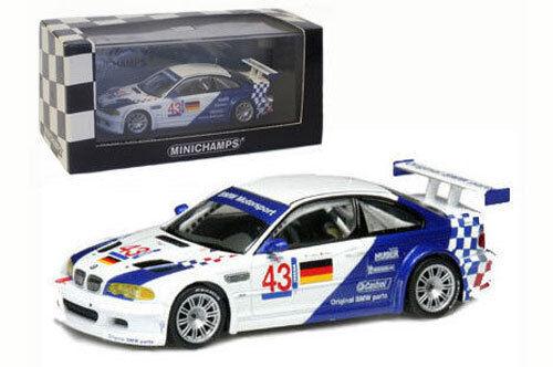 Minichamps BMW M3 GTR Vainqueur Elms JARAMA 2001 - 2001 EKBLOM / Muller, échelle 1/43, | Prix Modéré