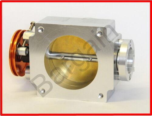 80MM UNIVERSAL THROTTLE BODY /& PLENUM FLANGE for NISSAN SKYLINE RB25DET R33 R34