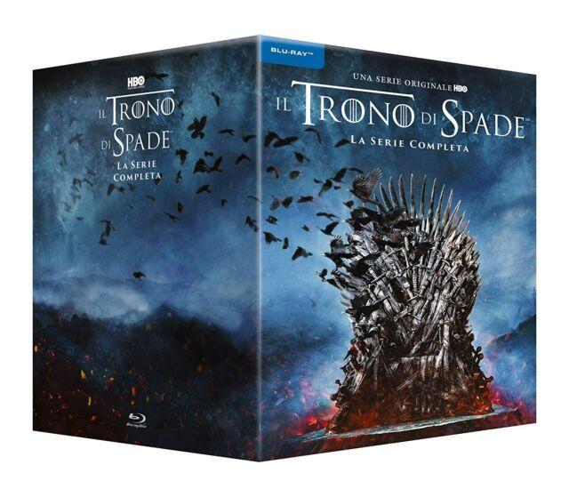 Il Trono di Spade - La Serie Completa - Stagioni 1-8 (Cofanetto 33 Blu-Ray) ITA