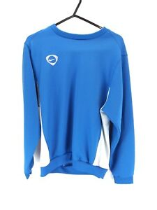 NIKE-Boys-Jumper-Sweater-12-13-Years-L-Large-Blue-Polyester