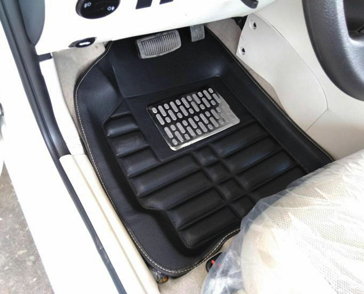 universal Auto Fußmatten Fußmattensatz 4tlg vorne und hinten,Gummi