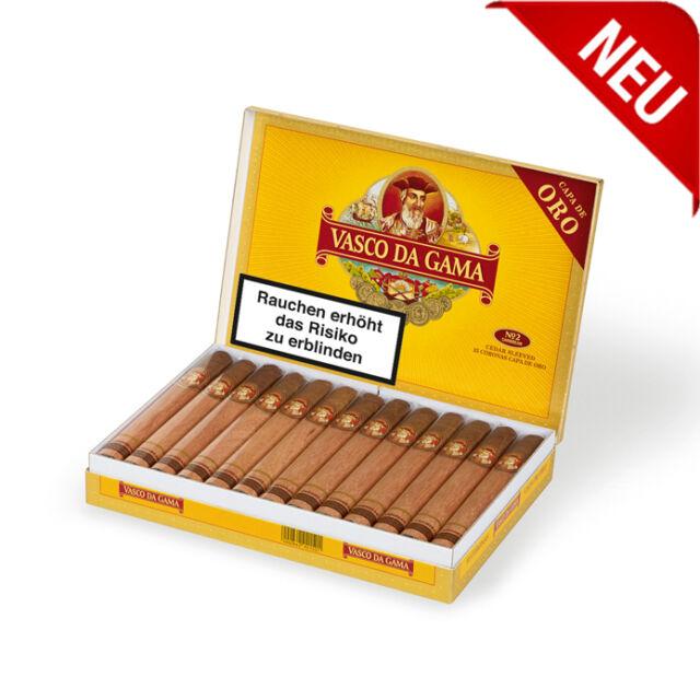 Vasco da Gama 25 Cigarren Capa de Oro 100% Tobacco