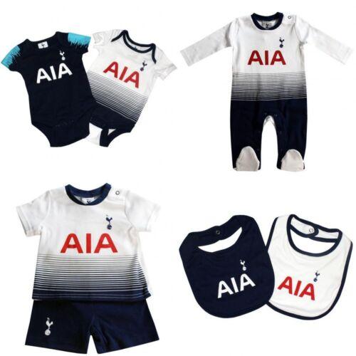 Tottenham Hotspur Baby Set Strampelanzug Schlafanzug Weste Sporen Neu 2018//19