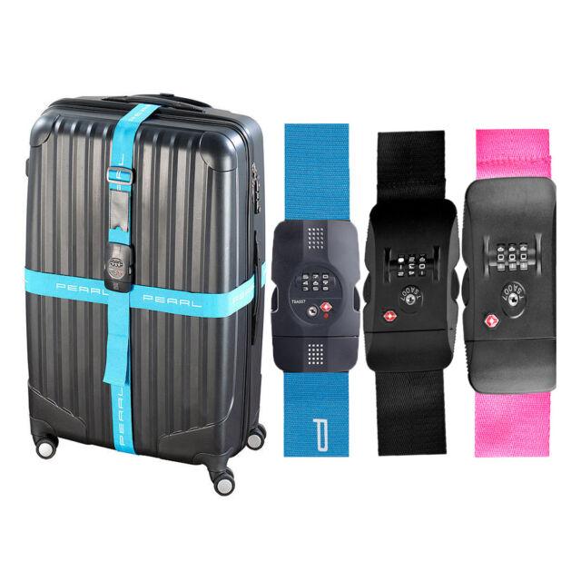 MFH Koffergurt Kofferband Zahlenschloss längenverstellbar Reise Gepäck oliv