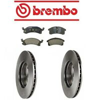 Buick Skylark 90-93 V6 3.3l Brembo Front Brake Kit With Rotors And Bosch Pads on sale