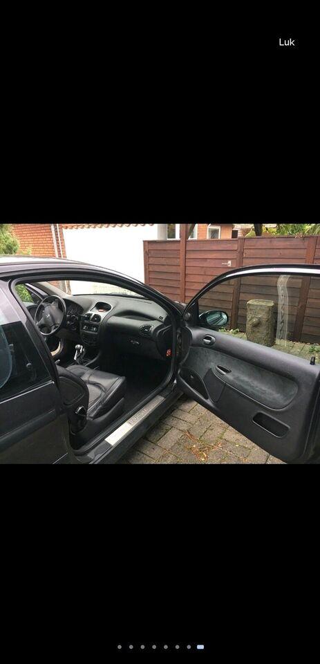 Peugeot 206, 1,6 Griffe, Benzin
