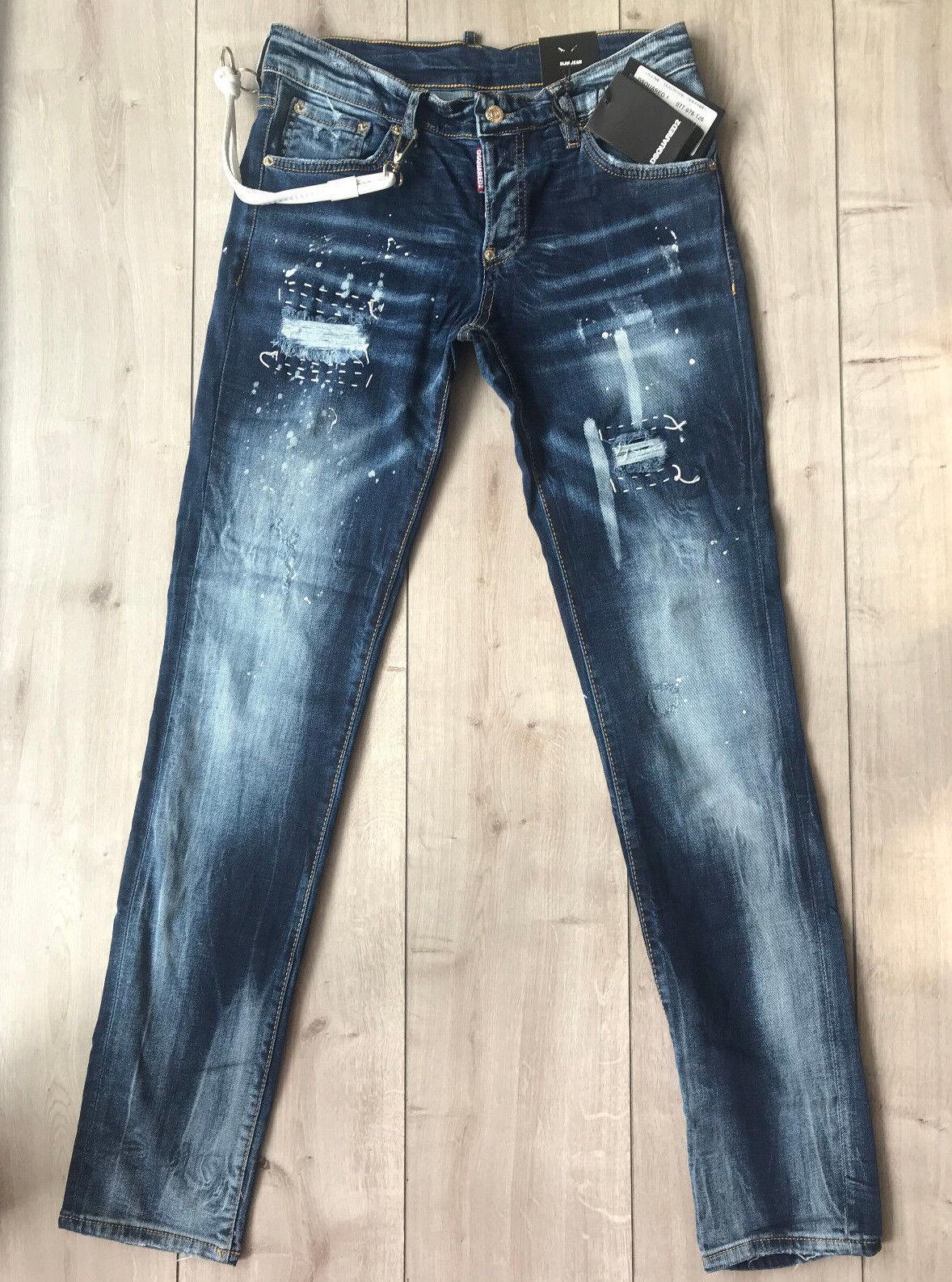 NWTDsquared Slim Jean Jeans W30 L33 (Waist 78 cm) Size 42