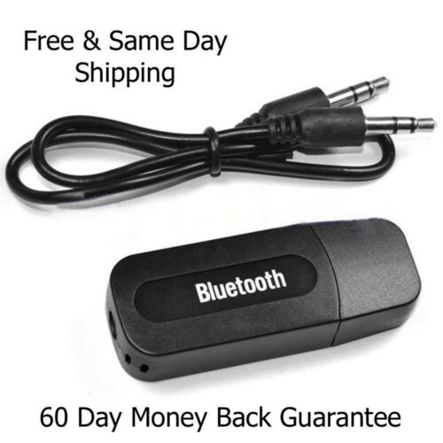 USB Wireless Bluetooth-Adapter Music Audio Receiver Transmitter for PhoneMP3 etc
