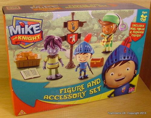 Mike le chevalier action figures set Mike Fernando et TROLLEE NOUVEAU!