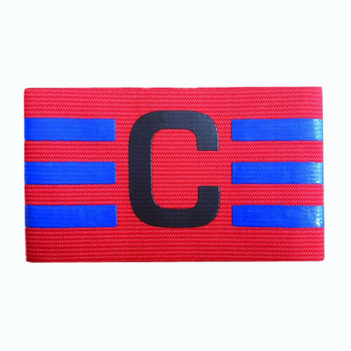 JZ/_ 7 Color Sport Match Captain Arm Band Soccer Football Games Armband Badge F