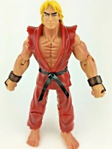 Ken Masters Street Fighter Action Figure 6 Inches 2004 Capcom