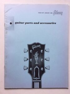 gibson rare orig1965 guitar parts accessories 28pg price list from kalamazoo ebay. Black Bedroom Furniture Sets. Home Design Ideas